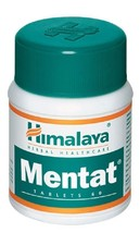 5x Himalaya Herbals Mentat 60 Tablet Free Shipping Worldwide. - $20.99