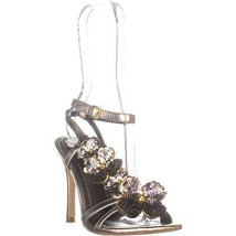 Coach Bianca Ankle Strap Sandals, Champagne, 6.5 US - $107.51