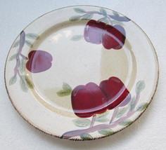 Apple Harvest Side Plate by Canterbury Potteries Handpainted Collection - $8.99