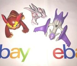 pokemon play figurines bundle #3 assorted characters lot of 3 - $1.99
