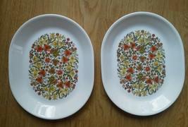 Set 2 Corelle Large Oval Platter Indian Summer 12 in Corning Serving Flo... - $38.77