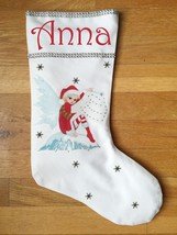 Fairy Christmas Stocking - Personalized and Hand Made - $29.99