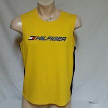 VTG 90s Tommy Hilfiger Athletics Jersey Sport Lotus Shirt Tank Top Spell... - $29.99