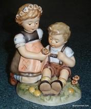 """Blumenkinder"" Goebel Hummel Figurine #914 TMK8 - First Issue - CUTE FLOWER GIRL - $223.09"
