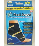Foot Angel Anti-Fatigue Compression Foot Sleeve Size S/M New - $10.89