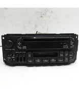 98 99 00 01 02 Dodge Chrysler Jeep AM FM cassette CD radio receiver OEM RAZ - $49.49