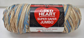 Red Heart Super Saver Jumbo Variegated Worsted Yarn-1 Skein Color Mirage #301 - $14.20