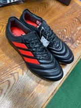 adidas copa 19.1 fg Black And Red Pro Soccer Cleats Size Mans 11.5  Only - $168.30