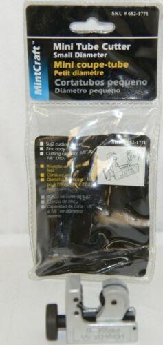 MintCraft 6821771 Mini Tube Cutter Suj2 Cutting Wheel Zinc Body