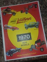 Reprint Johnny Lightning Advertisement For Topper Johnny Lightning Cars! - $4.95