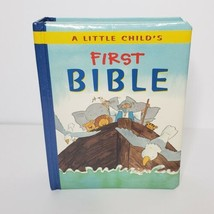 A Little Child's First Bible 2005 Board Book Retold by Leena Lane Illust... - $11.88