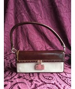 Ann Taylor Suede and Leather Baguette Handbag, NWT - $44.10