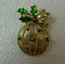 Vintage Gerry's Christmas Ornament Pin - $8.79
