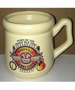 Nashville Music City USA Grand Ole Opry Coffee Mug Cup Tennessee Vintage... - $13.85