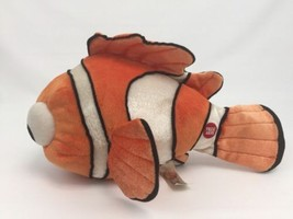 "Disney Pixar Finding Dory 13"" Nemo Talking Orange White Fish Plush Animal Toy - $19.60"