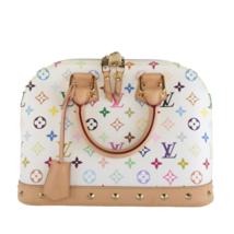 Louis Vuitton White Multicolore Alma PM Bag - $1,269.60
