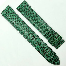 Cartier Authentic 17.5mm Green Leather Strap for Buckle 580OA13OEAO - $299.00