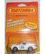 "Matchbox 1987 ""Porscche Turbo"" #MB3 Mint Car Sealed On Automotive Superstar Card - £5.81 GBP"