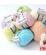 1 Skeins !! Yarn Art JEANS - Amigurumi Cotton Yarn - Knitting Yarn - Yar... - $2.55