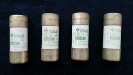 Gould 40 Amp 660 Volts 32 Watts Fuse Lot of 4 - $9.50