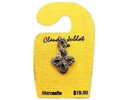 Claudia Jublot Marcasite Fancy Flower Charm