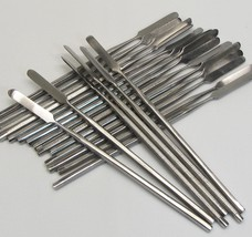 24 Stainless Metal Spatulas Wholesale Cosmetic Makeup Beauty Craft Tools #5060 - $69.95