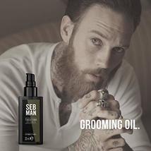 SEB MAN The Groom by Sebastian, Men's Hair & Beard Oil, 1 oz. image 4
