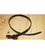 "KL Select BLACK 28"" x 5/8"" Leather Replacement Flash Strap - $25.50"