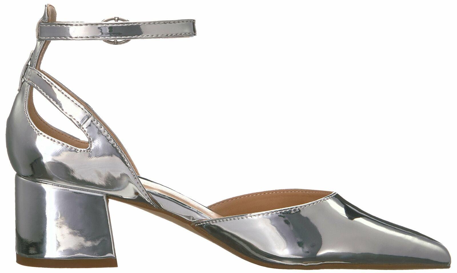 Franco Sarto Women's Caleigh Pump 6.5 Silver image 6