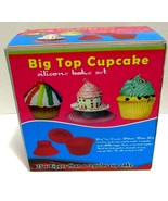 NEW - Big Top CupCake Silicone Bakeware Set: 3 piece set, Hot Pink 25x Bigger  - €16,73 EUR