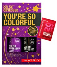 MATRlX Total Results Color Obsessed Shampoo, Conditioner 10.1oz & Mask 1oz - $24.99