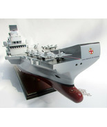 HMS Prince of Wales Aircraft Carrier (R09) Handcrafted Ship Model Displa... - $574.20