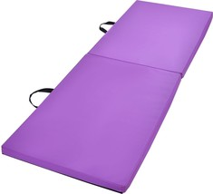 6'x2'x1.5'' Gymnastics Mat Thick Two Folding Panel Gym Fitness Exercise ... - $1.050,42 MXN