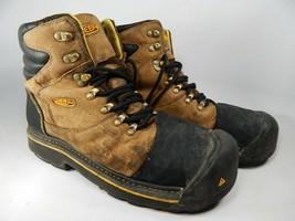 Keen Milwaukee Size 11 M (D) EU 44.5 Men's WP Steel Toe Work Brown Boots... - $94.83 CAD
