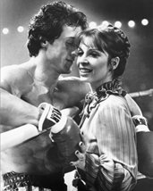 Sylvester Stallone And Talia Shire In Rocky Boxing Ring 16x20 Canvas Giclee - $69.99