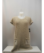 Style&Co Women's Tunic Sweater Scoop Neck Short-Sleeve Pullover Rye PLUS... - $69.97