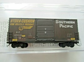 Micro-Trains # 10144060 Southern Pacific Weathered 40' Hy-Cube BoxCar N-Scale image 1