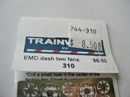 Trainworx Stock # 310 EMD dash two Fans  N-Scale image 2
