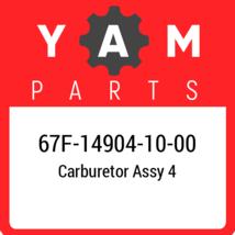 67F-14904-10  Yamaha Carburetor Assy 4, New Genuine OEM Part - $625.22