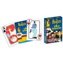 The Beatles - Yellow Submarine Single Deck of Playing Cards Brand New & ... - $9.69