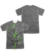 Authentic Green Lantern Vanquish Evil Sublimation allover Front Back T-s... - £25.02 GBP+