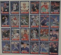 1986 Fleer Chicago White Sox Team Set of 24 Baseball Cards - $1.50