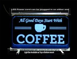 Personalized Coffee Cup LED Sign - Gift for Mom - Restaurant sign image 5
