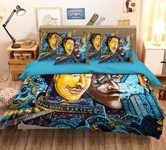 3D Man Face Painted 1026 Bed Pillowcases Quilt Duvet Single Queen King U... - $102.84+