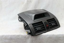09-11 Toyota Corolla OEM Black Center Dash Top Trim Bezel Air Vents W/ Clock image 4