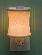 Scentsy Lace & Hope Nightlight Plug in Warmer NIB - $19.79