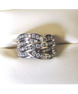 Diamond 14 K White Gold 1.25 C Ring~The Perfect Gift~Size 5~Drop Dead Go... - $999.99