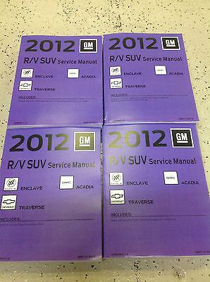 2012 buick enclave service shop repair and 26 similar items rh bonanza com 2015 Buick Enclave Buick Verano
