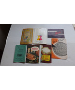 Vintage Recipe Booklets Cook books Kitchen Tips Lot Of 7, Great for Scra... - $13.89