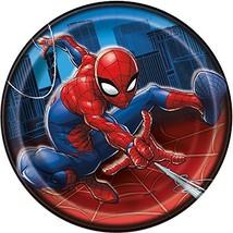 Unique Spider-Man Round 7 Inch Dessert Plates [8 Per Pack] - $9.00